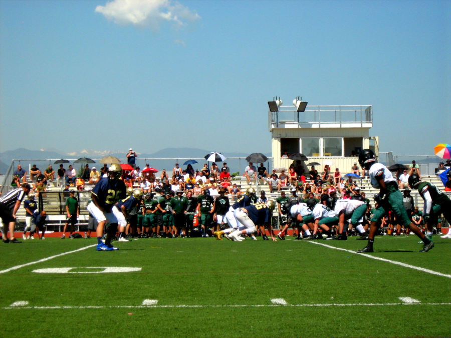 First Scrimmage of the Season for Legacy Football Teams