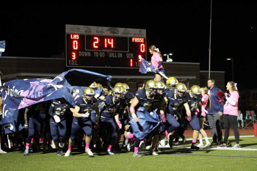 Pink Out Game Photos