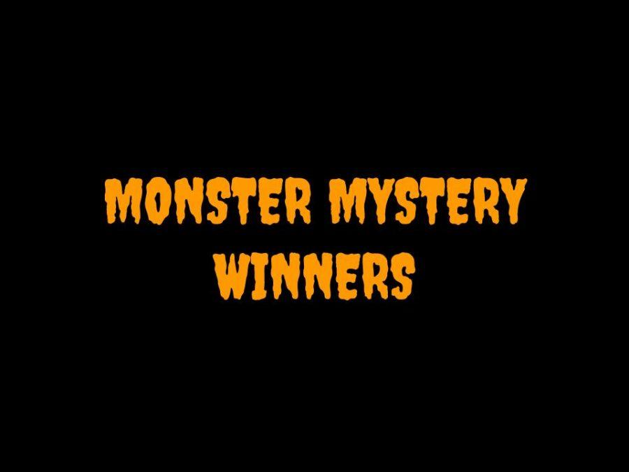 Monster Mystery Winners